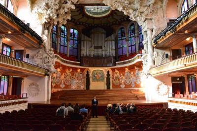 世界遺産「カタルーニャ音楽堂」を訪ねて