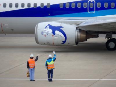 大きなものをみよう @福島空港