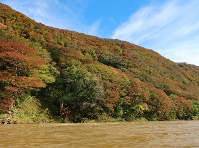 秋の山形紅葉めぐり(2)★最上川下り・酒田・鶴岡