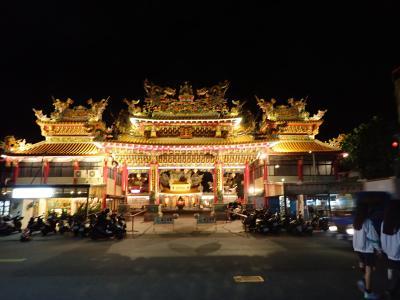 初めての台湾 夜の台東お散歩 そして、東海岸国道11号線を北に