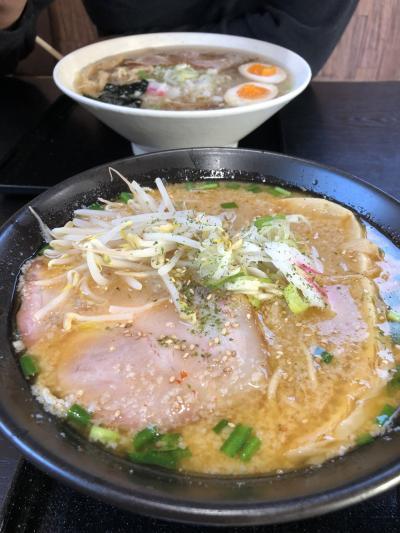 朝ラー&日帰り温泉②こうじ屋&辻ケ花(山形)
