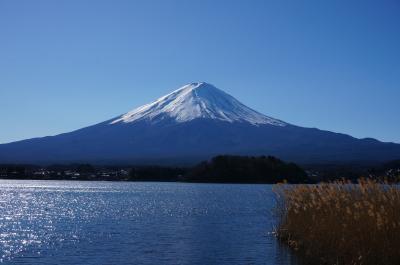 冬の忍野八海と富士五湖