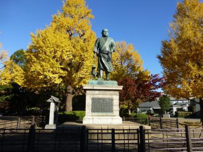 上野で紅葉狩り