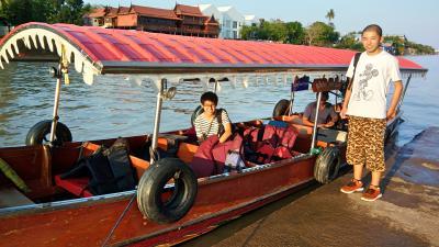 家族4人でタイ、カンボジア遺跡巡りの旅 5日目