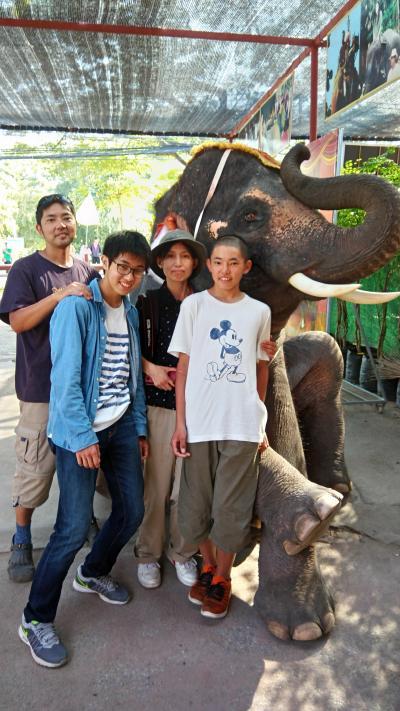 家族4人でタイ、カンボジア遺跡巡りの旅 6日目