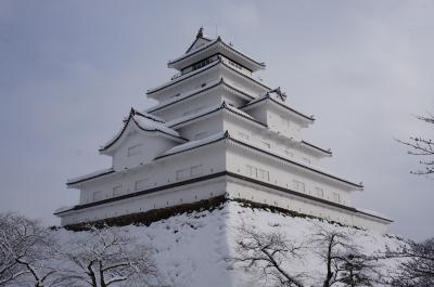 冬の会津若松と大内宿の雪まつり ①