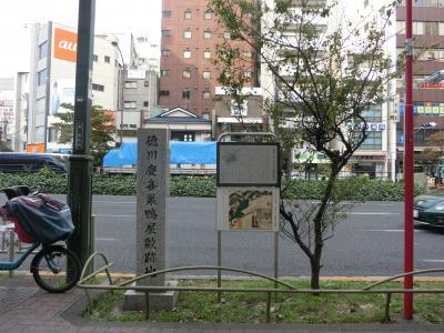 徳川慶喜巣鴨屋敷跡