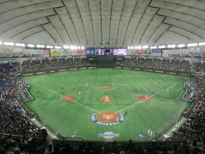 東京ドーム(日本VSメキシコ)