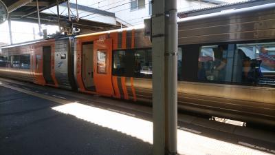 四国の観光列車初体験。伊予灘ものがたり