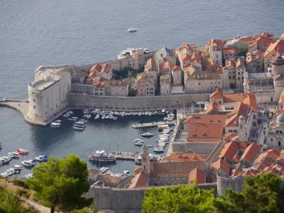 秋のクロアチア等 4ヵ国周遊個人旅行3.ドブロブニク(後)スルジ山ハイクと遊覧船