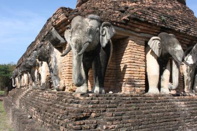 家族4人でタイ、カンボジア遺跡巡りの旅 9日目