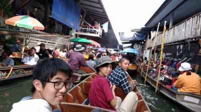 家族4人でタイ、カンボジア遺跡巡りの旅 10日目