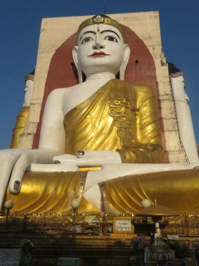 ミャンマー 「行った所・見た所」 バゴーのチャイプーンパヤに行きました