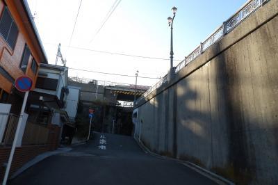 聖徳寺脇のガード