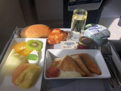 エルサレムから空港へ鉄道で移動、ベングリオン空港での出国、エーゲ航空 TLV/ATHビジネスクラス搭乗記