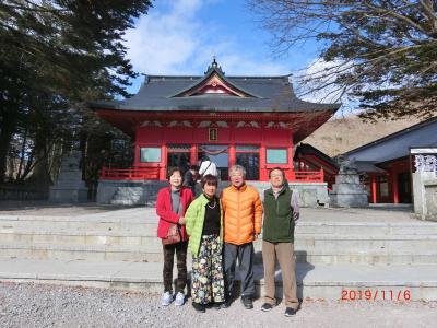 赤城山麓の赤城神社を2つ巡りました