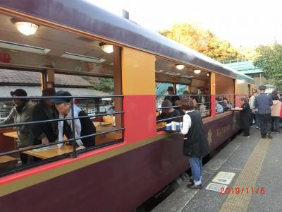 赤城神社の帰りにわたらせ渓谷鉄道の神戸駅に寄った