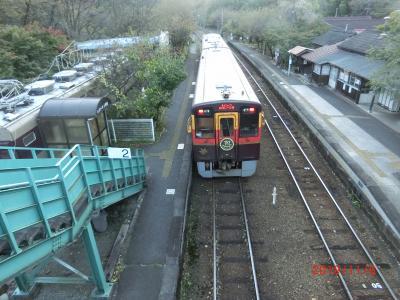 友人とドライブ(わたらせ渓谷鉄道2/2)