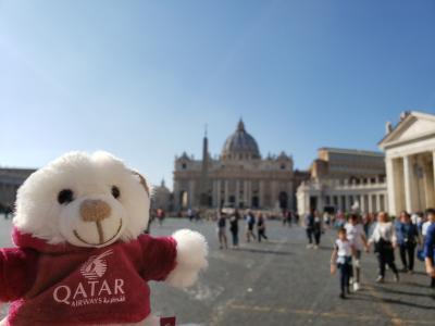 憧れのヴェネツィアン・ゴンドラに乗りに行く旅9日間 ~3日目 古き街並みが残るローマ市内観光編~