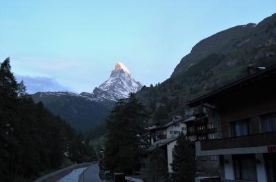 スイスを歩く。やっぱり好きだ、マッターホルン。