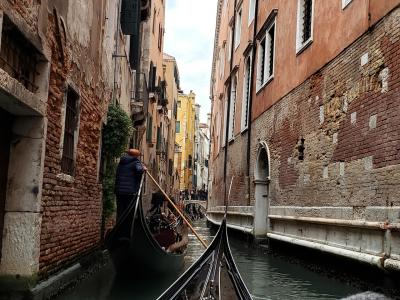 憧れのヴェネツィアン・ゴンドラに乗りに行く旅9日間 ~7日目 憧れのゴンドラ そしてギュギュッといいとこどり観光編~