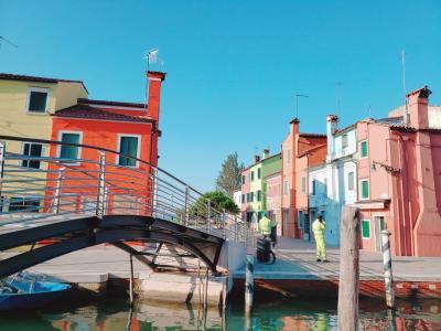 憧れのヴェネツィアン・ゴンドラに乗りに行く旅9日間 ~最終日 早朝貸切のブラーノ島 そして惜しくも帰国編~