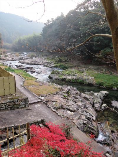 大谷山荘(長門湯本温泉)で冬の特選会席を楽しむ