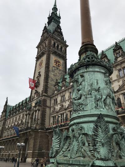 ドイツ周遊8日目、1人ハンブルクを歩く