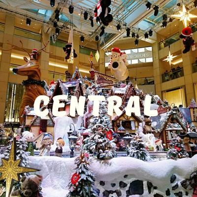 香港★クリスマスデコレーションを見に ~置地廣場The Landmark~
