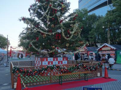 久屋大通公園でやっている「名古屋クリスマスマーケット2019」に行ってきました。