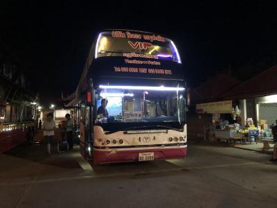 【2019GW タイ・ラオス】5.シーパンドンからパクセー、そしてビエンチャン行夜行バスに乗り継ぐ