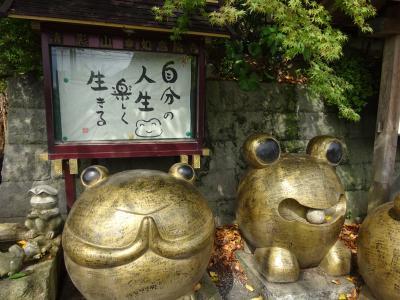2019帰省の旅 かえる寺(如意輪寺)でパワー貰い博多で刺激貰い若ガエル無事カエル