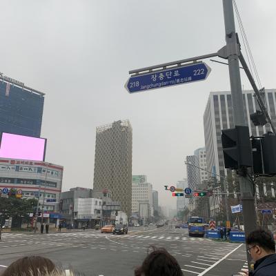 韓国は今PM2.5がや。ば。い