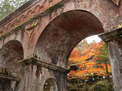 11月末南禅寺・水路閣と湯豆腐ランチ