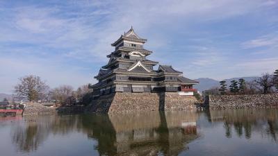 松本市内を歩いて巡る旅「国宝松本城・旧開智学校・深志神社・四柱神社・千歳橋」