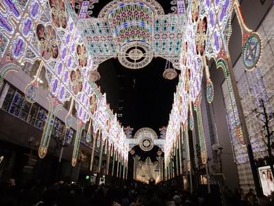 神戸ルミナリエ ('19年12月)