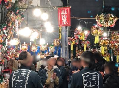 埼玉・氷川神社の十日市2019