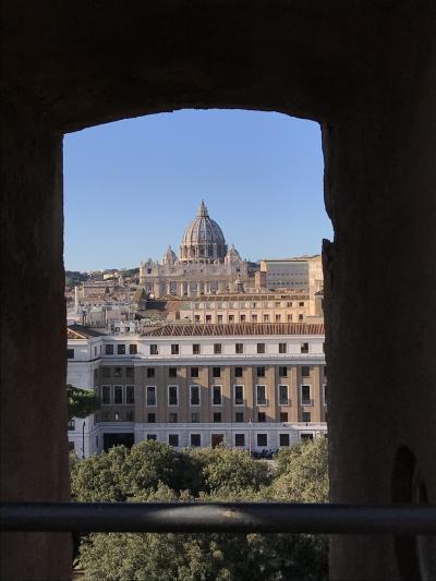 再びのイタリア⑥ 絶景かな、サンタンジェロ城