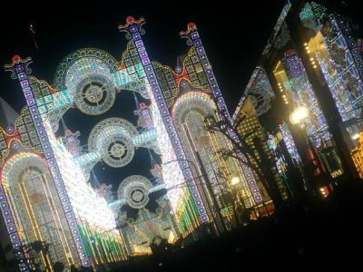 神戸ルミナリエへ (12/7 日帰り)