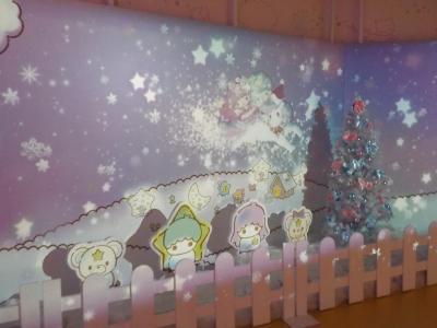 サンリオピューロランド クリスマスバージョン