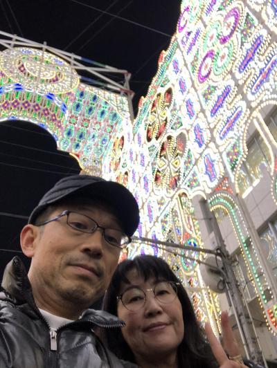 2019神戸ルミナリエ行ってきました。