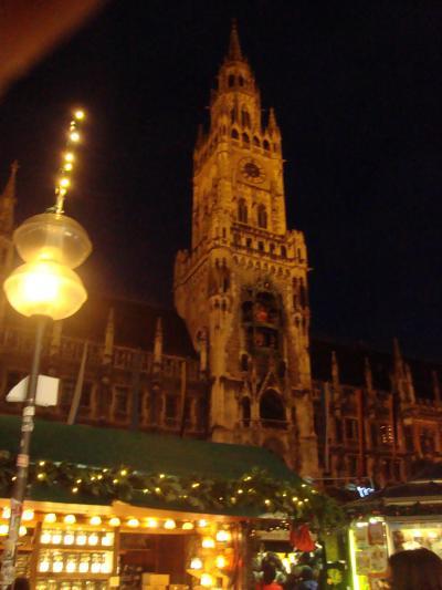 ミュヘンへのクリスマスイベントへ参加