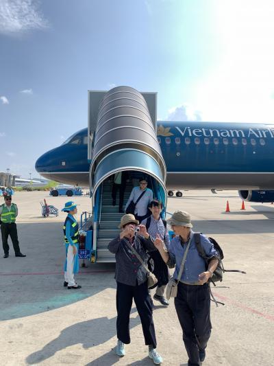 ベトナム航空でタイへ
