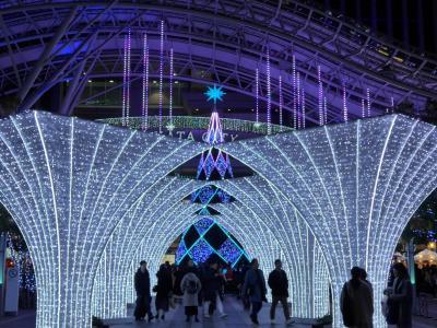 2019年12月クリスマスイルミネーションが街を輝かせます!!№1 ☆☆福岡・博多駅周辺編☆☆