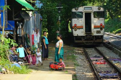 ベトナム、ミャンマー、タイ3国バス鉄道の旅(ハノイ→ミャンマー ヤンゴン)