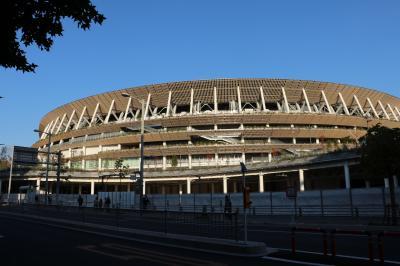 季節の街歩き2019年12月 新国立競技場 New National Stadium