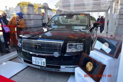 2019 皇居乾通と大嘗宮一般参観&迎賓館のオープンカーをハシゴしてきた《迎賓館編》