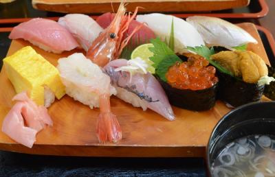 横浜金沢文庫 寿司駒 美味しいランチ 2019年9月