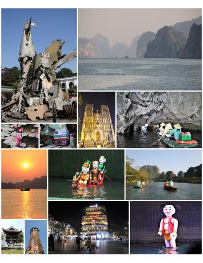 ベトナムの世界遺産『ハロン湾』『タンロン遺跡』『チャンアンの景観複合体』を巡る旅:その①~日本出国からハノイ旧市街地へ
