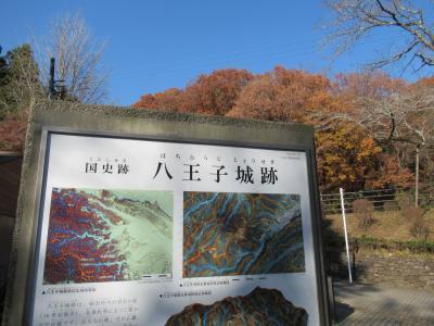 「八王子城」日本百名城スタンプ巡り1城目